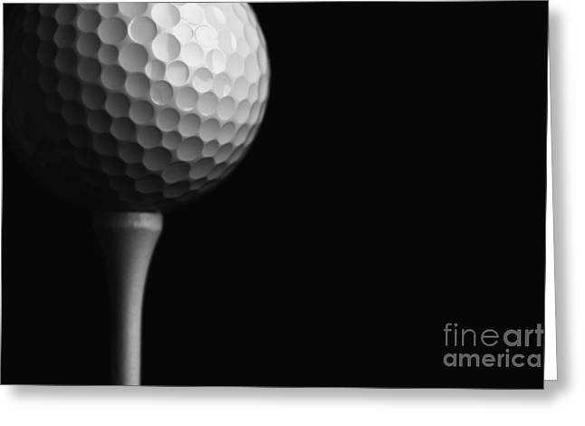Lunar Golf Greeting Card