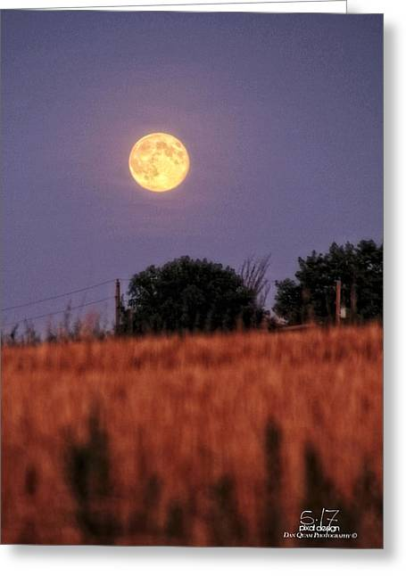 Lunar Light Lifting Greeting Card by Dan Quam