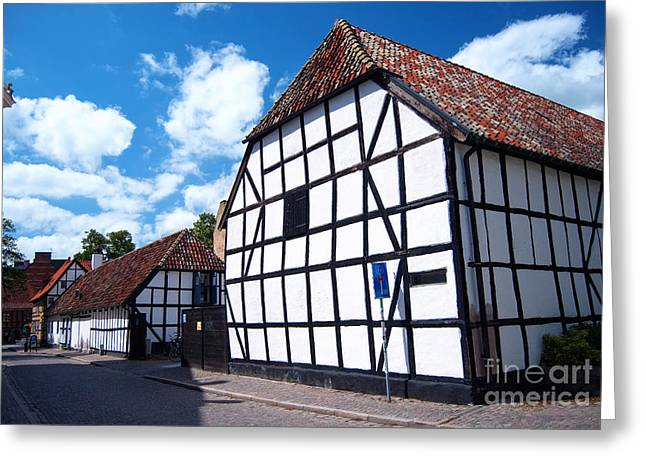 Lund Old Building 01 Greeting Card by Antony McAulay