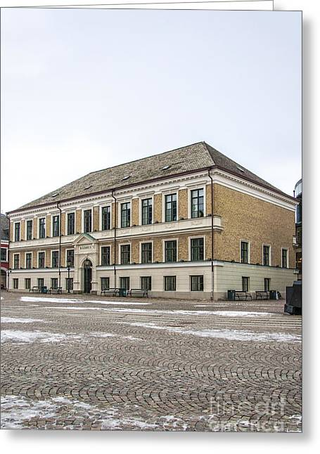 Lund Town Hall Greeting Card by Antony McAulay