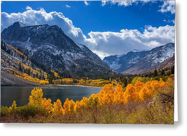 Lundy Lake Greeting Card