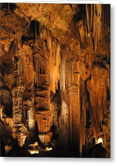 Luray Caverns - 1212119 Greeting Card by DC Photographer