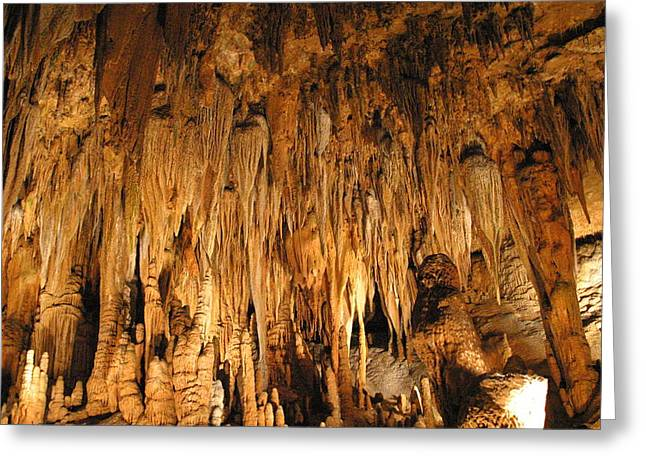 Luray Caverns - 1212136 Greeting Card by DC Photographer