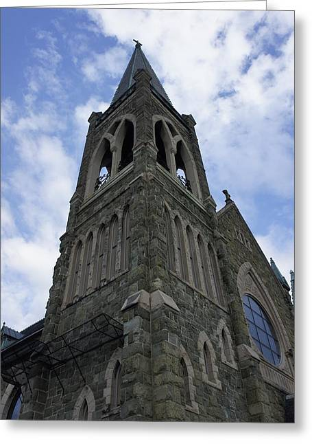 Greeting Card featuring the photograph Luray Chapel by Laurie Perry