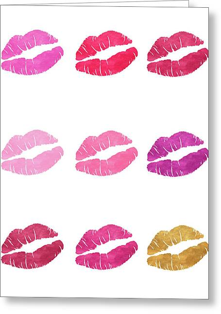 Luscious Lips Greeting Card