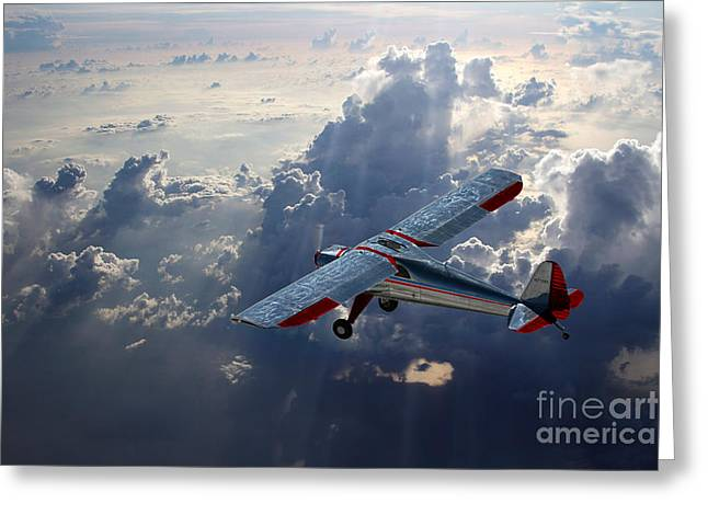 Luscombe Flight Greeting Card