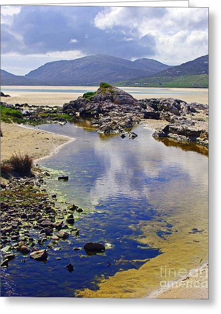 Greeting Card featuring the photograph Luskentyre Dream by Jacqi Elmslie