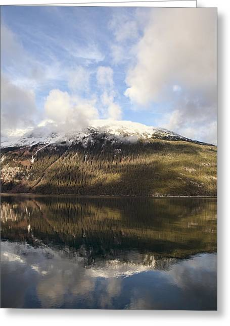 Lutak Inlet Reflections Greeting Card
