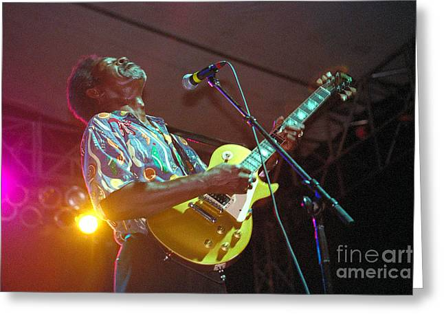 Luther Allison-1 Greeting Card by Gary Gingrich Galleries