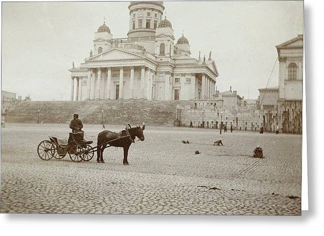 Lutheran Cathedral In Helsinki, Finland, Henry Pauw Van Greeting Card