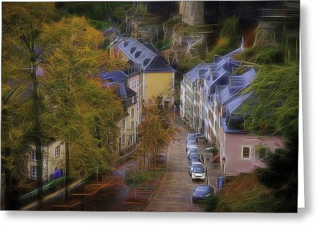 Luxembourg - Grund Greeting Card