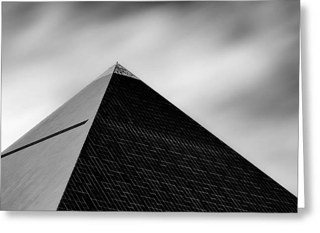 Luxor Pyramid Greeting Card by Dave Bowman