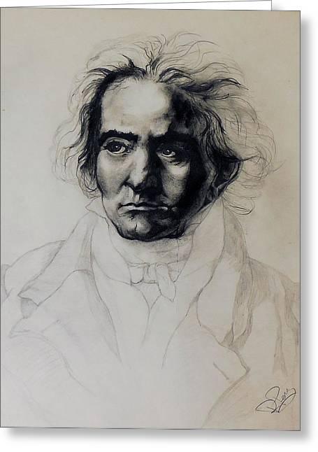 L.v. Beethoven Greeting Card