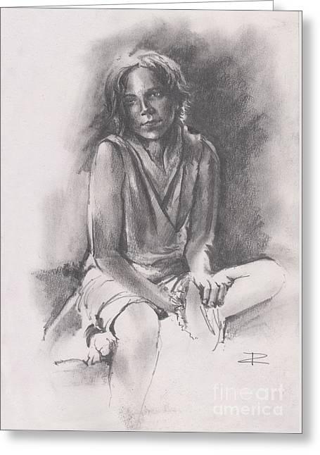 Lydia Sketch Greeting Card