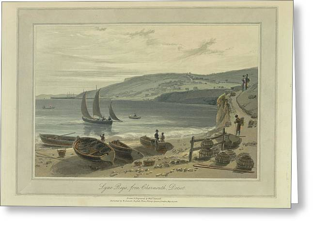 Lyme Regis Greeting Card by British Library