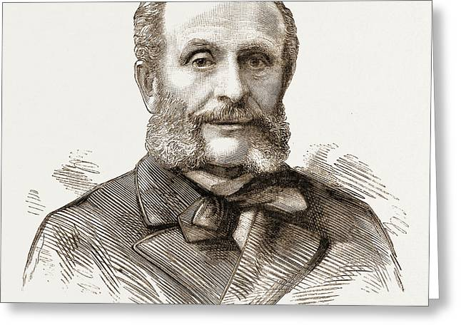 M. Nicholas Carlovitch De Giers, Russian Foreign Minister Greeting Card by Litz Collection
