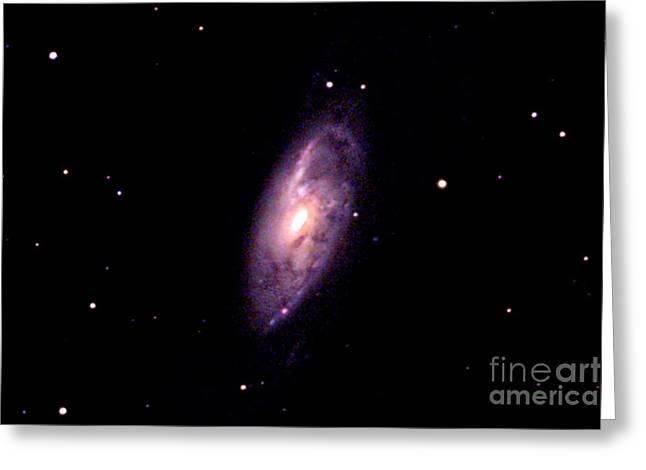 M106 Galaxy Greeting Card by John Chumack