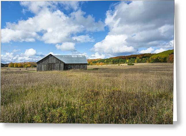 M22 Barn On A Sunny Day Greeting Card by Gej Jones