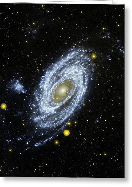 M81 Galaxy Greeting Card