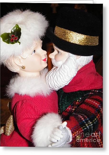 Ma And Pa Claus Greeting Card