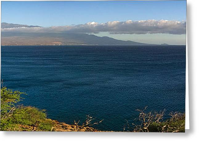 Maalea Bay Overlook   Greeting Card by Lars Lentz