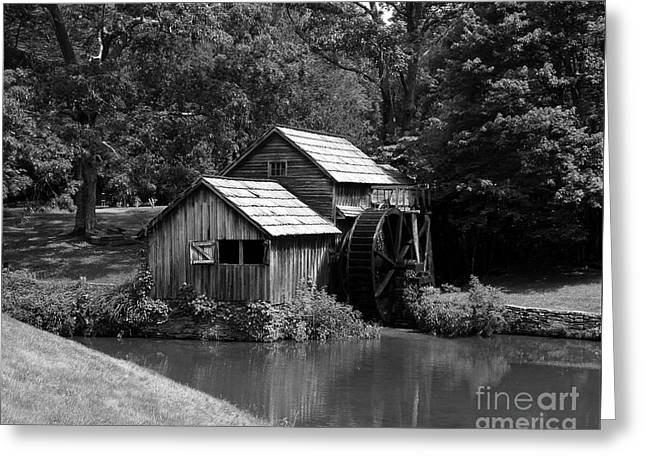 Mabry Mill 3 Greeting Card by Mel Steinhauer
