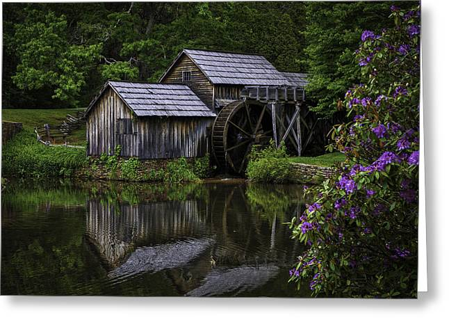 Mabry Mill In Spring Greeting Card