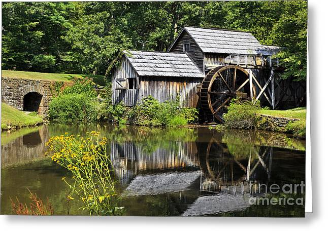 Mabry Mill In Virginia Greeting Card