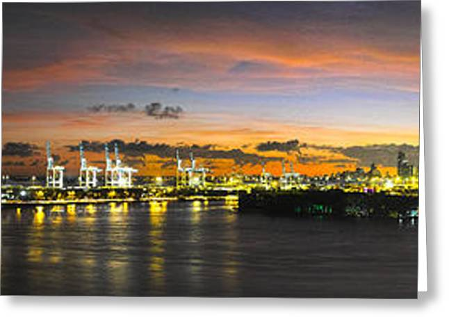 Macarthur Causeway Bridge Greeting Card