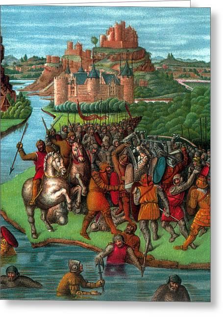 Maccabean Revolt, 2nd Century Bc Greeting Card