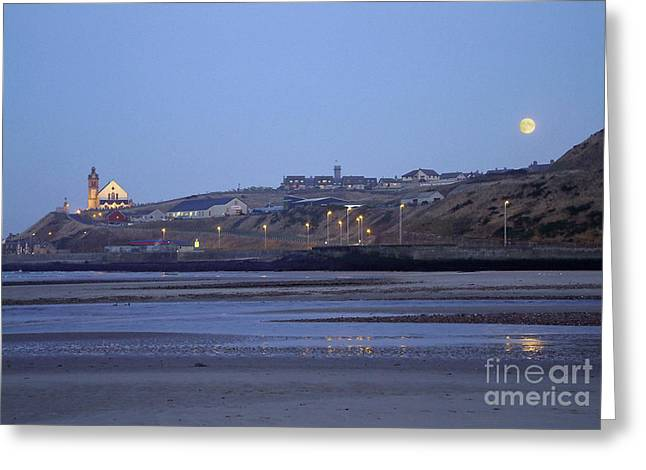 Macduff Moonlight Greeting Card by Phil Banks