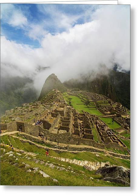 Machu Picchu, Cusco Region, Urubamba Greeting Card