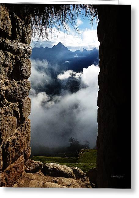 Machu Picchu Peru 4 Greeting Card