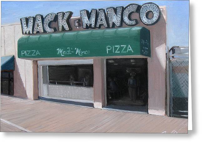 Mack And Manco Greeting Card by Jamie Pogue