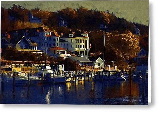Mackinac Island 1 Painting By Robert Sobota
