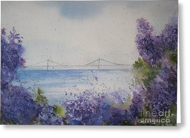 Mackinac Island Lilacs Greeting Card