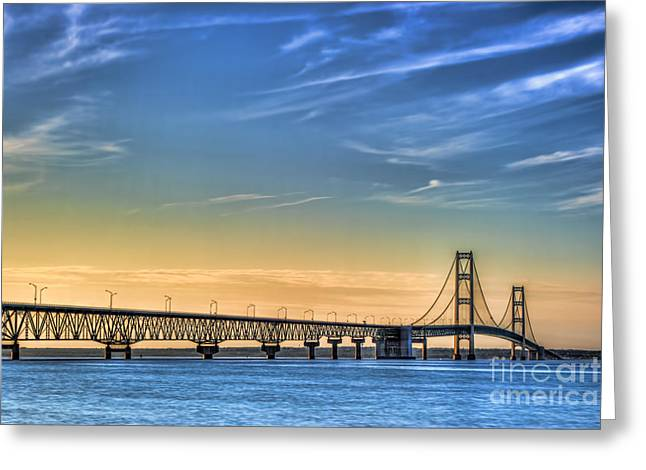 Mackinac Sunset Greeting Card
