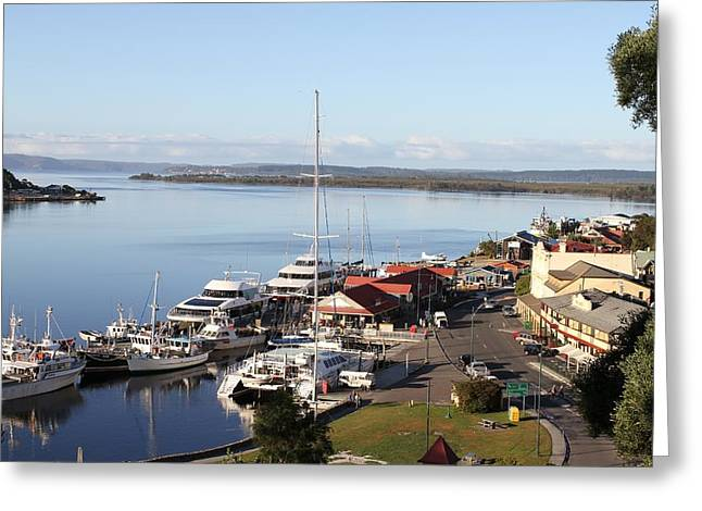 Macquarie Harbour Tasmania All Profits Go To Hospice Of The Calumet Area Greeting Card