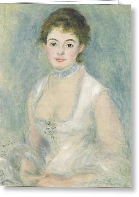 Madame Henriot Greeting Card