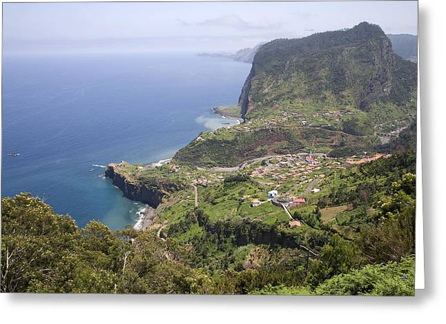 Madeira Portugal Greeting Card by Jim  Wallace