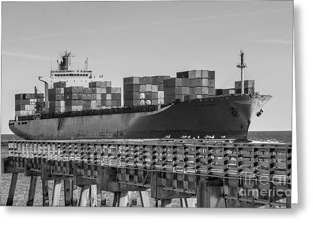 Maersk Shipping Line Greeting Card