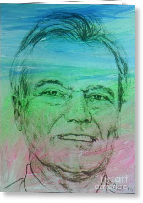 Maestro's Self-portrait Greeting Card