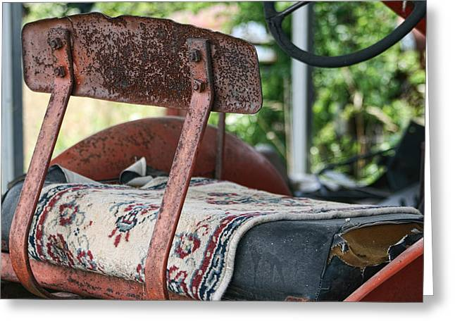Magic Carpet Ride Southern Style Greeting Card by Kathy Clark