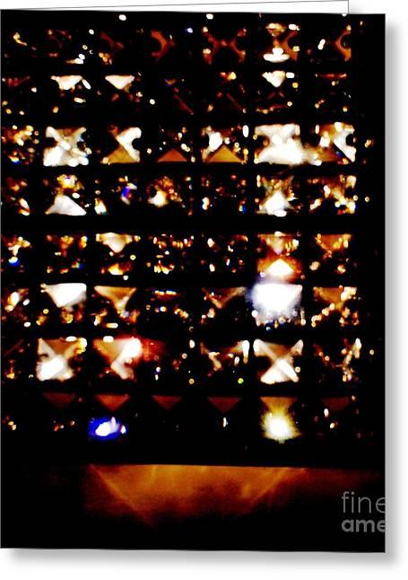 Magic Of Light  Greeting Card by Baljit Chadha