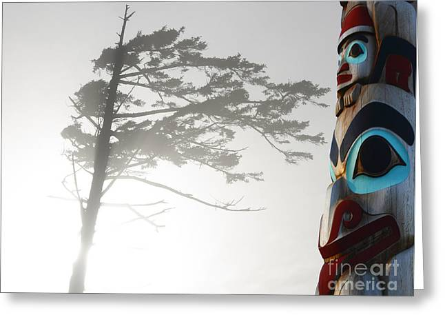Magic Of The Pacific Northwest 2 Greeting Card by Bob Christopher