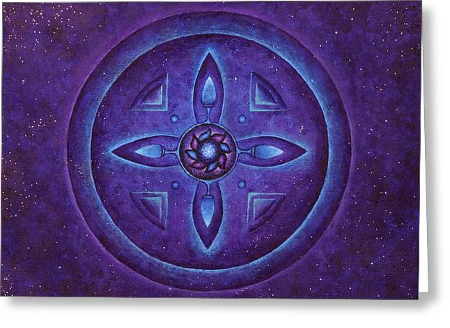 Magic Portal Greeting Card