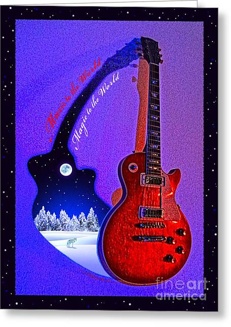 Magic To The World... Music To The World .2 Greeting Card