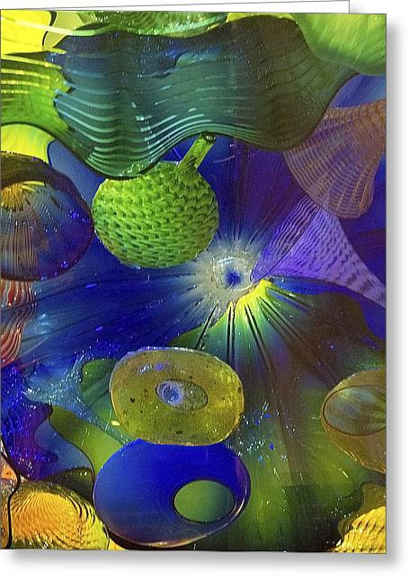 Magical Glass 2 Greeting Card by Elvira Butler