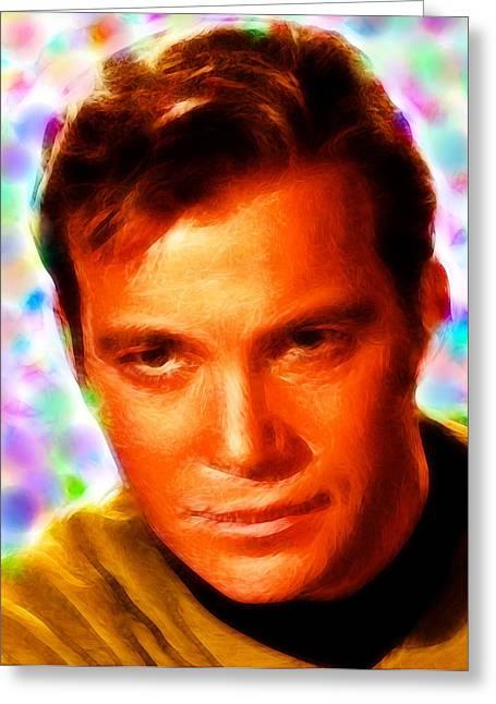 Magical Kirk Greeting Card
