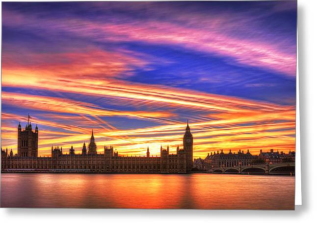 Magical London Greeting Card